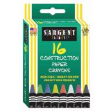 Construction Paper Crayons, 16 colors