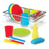 Let's Play House!® Wash & Dry Dish Set