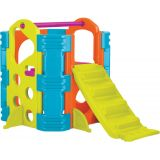 Climb and Slide, Vibrant colors