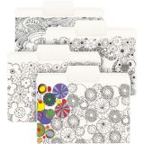 Smead® SuperTab® Coloring Folders, Pack of 24