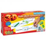 3-D Sight Word Sentences, Grade 2 Level Dolch Words