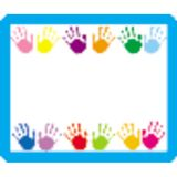 Handprints Name Tags