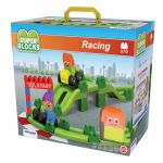 Super Blocks Racing Track Set