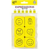 Foam Expressions Dice, Pack of 6