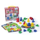 Nuts & Bolts School Activity Set, 24-Piece Set