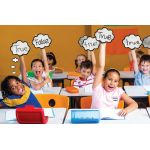 ThoughtClouds™ Dry-Erase Response Boards, Set of 6