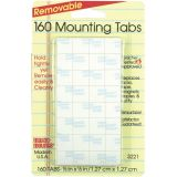 Magic Mounts® Mounting Tabs, 1/2 x 1/2, Pack of 160