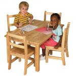 Deluxe Hardwood Table, 30