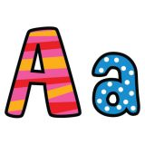 Designer Letters, Poppin' Patterns, 4