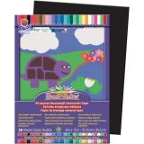 SunWorks® Construction Paper, 9 x 12, Black