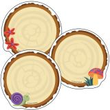 Nature Explorers Colorful Cut-Outs®, Wood Slices
