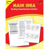 Main Idea Reading Comprehension Activities, Red Level