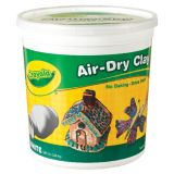 Crayola® Air-Dry Clay, 5 lb. Tub, White