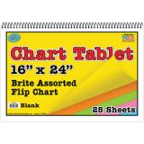 Brite Chart Tablet, 24 x 16, Blank
