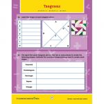 Principles & Standards of Math Task & Drill Worksheets, Geometry, Grades 6-8
