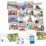 Social Studies Content-Area Sight Word Readers, English, 16 titles