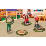 Forest Floor PhotoFun Stow-N-Go™ Counting Stumps, 16 Round, Set of 12