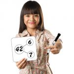 Sensational Math™ Write-On/Wipe-Off Blank Number Bonds Cards, Set of 30
