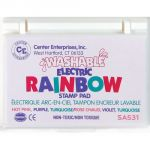Washable Rainbow Stamp Pad, Electric