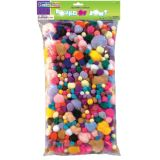 Pom Pons, Assorted 1 lb. bag
