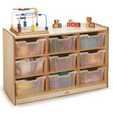 Clear-Tray Storage Cabinet, 9-Tray