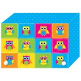 Smart Poly™ Index Card Boxes for 4 x 6 Cards, Color Owls