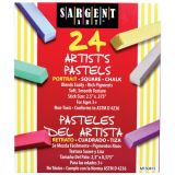 Sargent Art® Square Chalk Pastels, 24 portrait colors