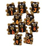10-Character Monkey Mitt® Set, Ten Little Bears