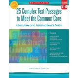 25 Complex Text Passages to Meet The Common Core, Grades 7-8