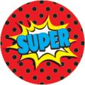 Superhero Mini Stickers