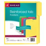 Smead® Letter Size File Folders, Assorted Colors, Pack of 12