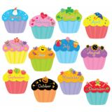 Designer Cut-Outs, Cupcakes, 6