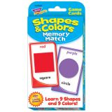 Shapes & Colors Memory Math Challenge Cards®
