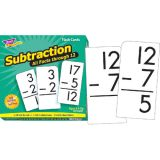 All Facts Flash Cards, Subtraction 0-12