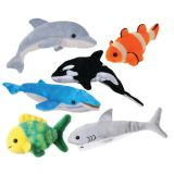Sea Life Finger Puppets, Set of 6