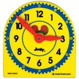 Mini Plastic Judy® Clocks Class Pack