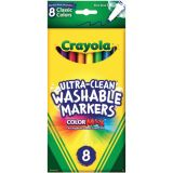 Crayola® Washable Thin-Line Markers, Classic Colors