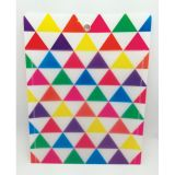 Smart Poly™ Pockets, Triangles, 10 x 13