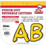 Peanuts® Deco Letters, Yellow