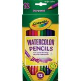 Crayola® Watercolor Colored Pencils, 12 colors