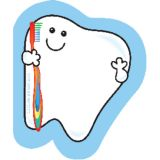 Creative Shapes Notepad, Tooth, Mini