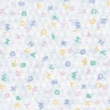 Angels® Rest Cot Sheet, Toddler Size, ABC Print