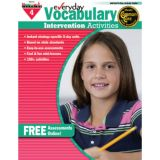 Everyday Intervention Activities for Vocabulary, Grade 4