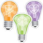 Colorful Cut-Outs® Assorted Designs, Light Bulbs