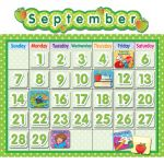 Polka Dot School Calendar Set