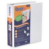 QuickFit® D-Ring View Binder, 2