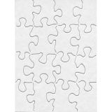 Compoz-A-Puzzle®, 4 x 5 1/2 Rectangle, 16 pieces