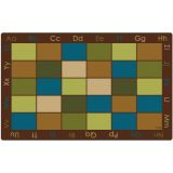 Colorful Places Seating Rug, 6' x 9' Rectangle, Nature's Colors