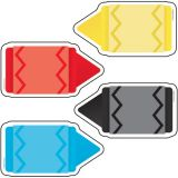 Colorful Cut-Outs® Assorted Designs, Chunky Crayons