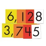 Sensational Math™ Place Value Cards, 4-Value Whole Numbers, Set of 40